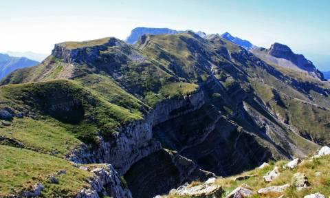 Επιχείρηση διάσωσης τραυματισμένου ορειβάτη στα Τζουμέρκα