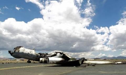 Υεμένη: Ο συνασπισμός βομβαρδίζει το αεροδρόμιο της Σαναά