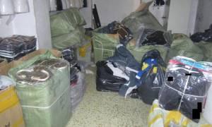 Περισσότερα από 7.000 προϊόντα «μαϊμού» εντοπίστηκαν στο Μεταξουργείο