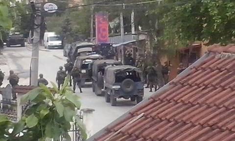 Σκόπια: Συνεχίζονται οι ένοπλες συρράξεις στο Κουμάνοβο