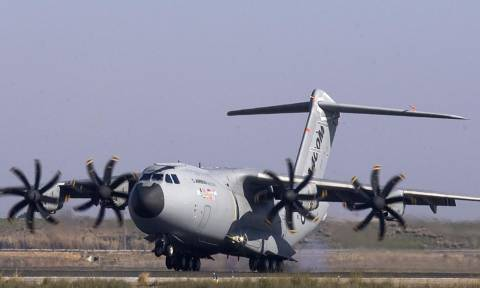 Γερμανία: Αναστέλλονται οι επιχειρήσεις του αεροσκάφους Airbus A400M