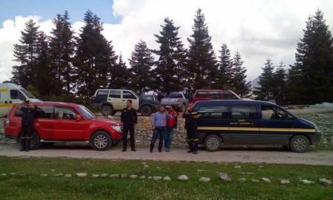 Βίντεο από την διάσωση του ορειβάτη στα Τζουμέρκα