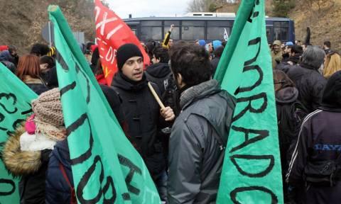 Θεσσαλονίκη: Συλλαλητήριο διαμαρτυρίας κατά της εξόρυξης χρυσού