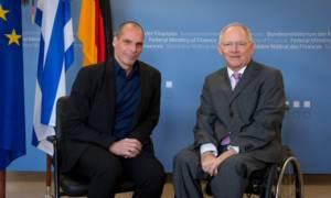 Πληροφορίες για συνάντηση Βαρουφάκη - Σόιμπλε πριν το Eurogroup