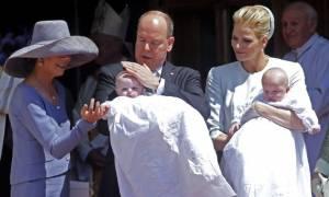 Πρίγκιπας Αλβέρτος – Charlene: Το φωτογραφικό άλμπουμ της βάπτισης των διδύμων τους