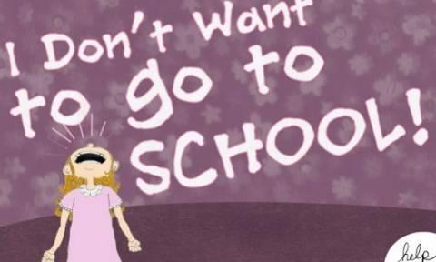 Όλα όσα πρέπει να ξέρετε για τη Σχολική φοβία
