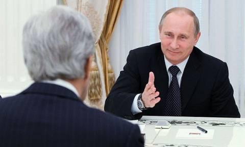 Ρωσία: Ιράν, Συρία, Ουκρανία στην ατζέντα της συνάντησης Πούτιν – Κέρι