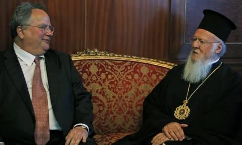 Βαρθολομαίος: Στηρίζουμε το έργο της νέας κυβέρνησης