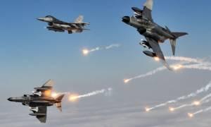 Εικονική αερομαχία τουρκικών και ελληνικών μαχητικών δυτικά της Λέσβου