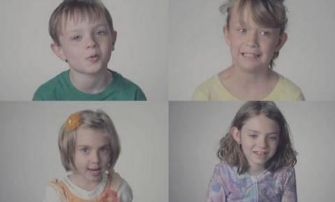Τα παιδιά μιλούν για τις μανούλες τους, οι αντιδράσεις των μαμάδων;