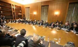 Σε εξέλιξη η συνεδρίαση του Κυβερνητικού Συμβουλίου