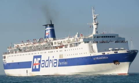 Πυρκαγιά σε επιβατικό πλοίο στην Αδριατική