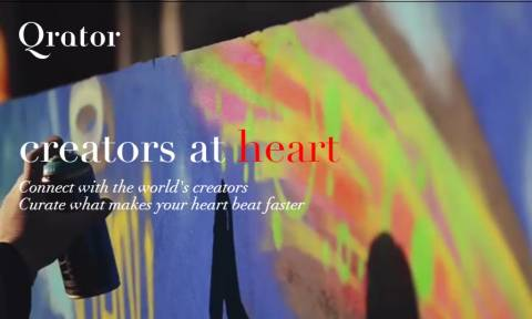 Qrator: Μοιραστείτε και θαυμάστε δημιουργίες από όλο τον κόσμο