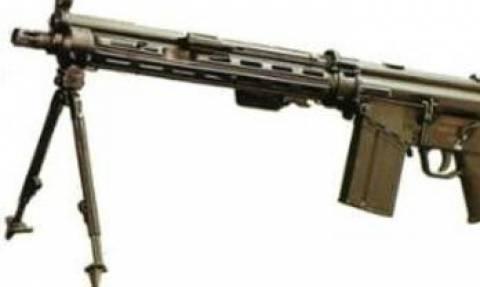 Εκλάπη οπλοπολυβόλο ΗΚ11 της Εθνικής Φρουράς