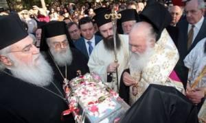 Στην Αγία Βαρβάρα για προσκύνημα ο Αρχιεπίσκοπος Ιερώνυμος