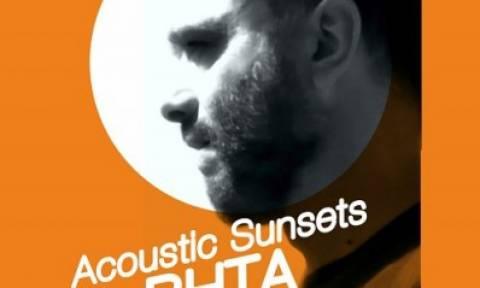 Acoustic Sunsets at the terrace: Ο K. Βήτα live στο Bios
