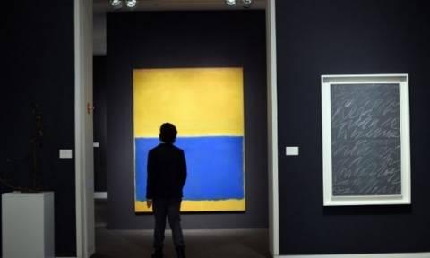 ΗΠΑ: Πίνακας του Ρόθκο «έπιασε» 82 εκατ. δολαρία σε δημοπρασία