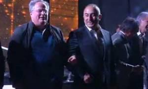 Κοτζιάς-Τσαβούσογλου: Πήραν μαζί το μικρόφωνο και ξεφάντωσαν...(video)