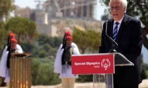 Παυλόπουλος: Το Ολυμπιακό Πνεύμα σηματοδοτεί την αποθέωση του ανθρώπου