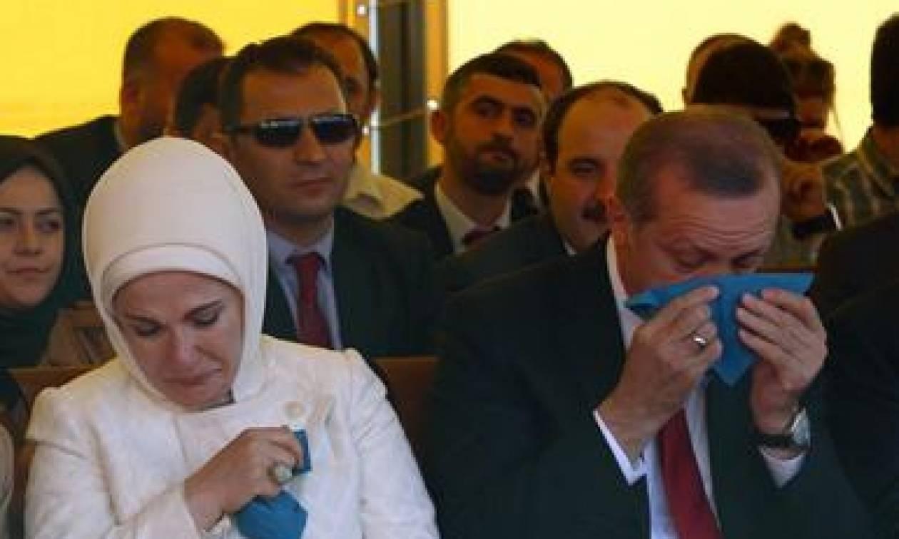 Και κλάμα....ο Ερντογάν!