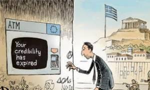 NY Times: Ενα σκίτσο για την Ελλάδα!