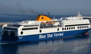 Επιβάτης άφησε την τελευταία του πνοή στο Blue Star Πάτμος