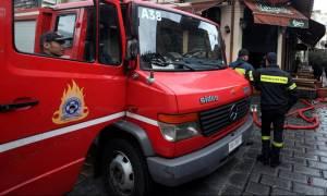 Φωτιά σε διώροφo σπίτι στη Θεσσαλονίκη
