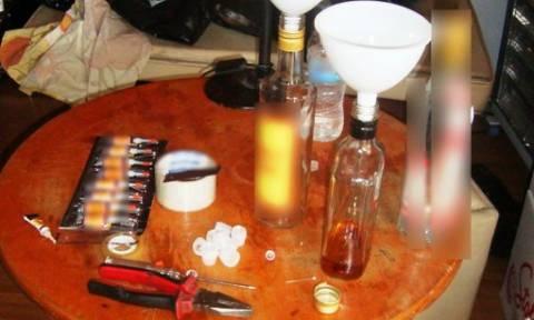 Θεσσαλονίκη: Συνελήφθη διακινητής λαθραίων αλκοολούχων ποτών