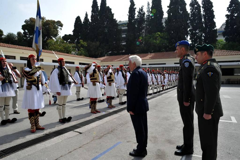 Επίσκεψη του Προέδρου της Δημοκρατίας στην Προεδρική Φρουρά (photos)
