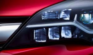 Opel: Η Επόμενη Γενιά Astra με IntelliLux LED Matrix Light