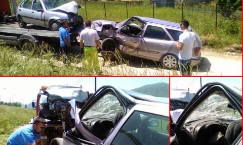 Ιωάννινα: Σοβαρό τροχαίο με έξι τραυματίες