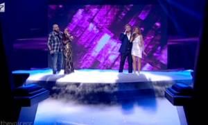 Οι τέσσερις coach στην σκηνή του «The Voice 2» με νέο τραγούδι!