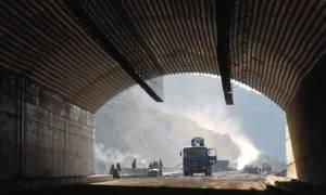 Τρίπολη: Έκλεισε η σήραγγα Ραψομάτη λόγω έργων