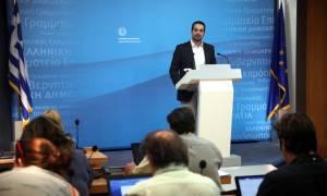 Σακελλαρίδης: Η κυβέρνηση δεν θα υπογράψει τρίτο μνημόνιο