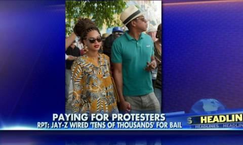 Ο Τζέι Ζι πλήρωσε τις εγγυήσεις συλληφθέντων διαδηλωτών στο Φέργκιουσον