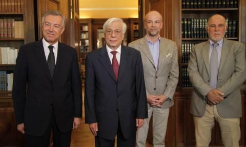 Συνάντηση με το προεδρείο του ΣΕΤΕ είχε ο Πρ. Παυλόπουλος