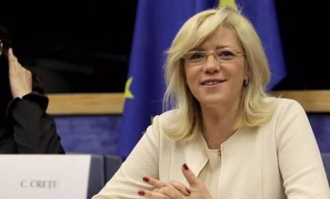 Στην Ελλάδα η Ευρωπαία Επίτροπος Κορίνα Κρέτσου