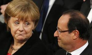 Γερμανικός Τύπος: Προτροπή Μέρκελ - Ολάντ να βρεθεί λύση με την Ελλάδα