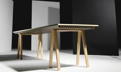 To τραπέζι που ρυθμίζει τη θερμοκρασία του δωματίου