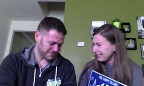 Δείτε τι εξομολογήθηκε on camera στο σύζυγό της και ξέσπασε σε κλάματα!