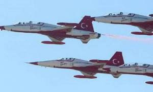 Τουρκικά μαχητικά αεροσκάφη πάνω από Χίο και Σάμο