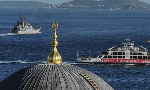 Μπλόκο στη διέλευση ρωσικών πολεμικών πλοίων από το Βόσπορο ζητά το Κίεβο