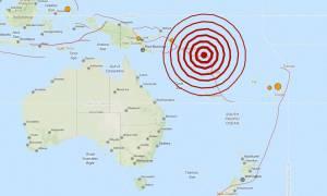 Σεισμός 6,9 Ρίχτερ στα Νησιά του Σολομώντα
