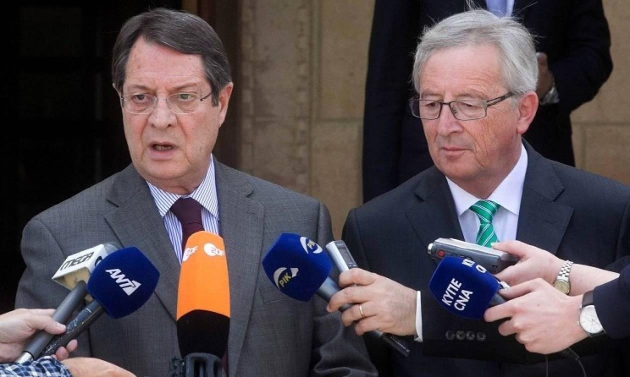 Εμπλοκή ΕΕ στις συνομιλίες στην ατζέντα Αναστασιάδη-Γιούνκερ