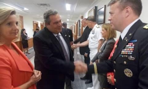 Συνάντηση ΥΕΘΑ Πάνου Καμμένου με την Υφυπουργό Άμυνας των ΗΠΑ