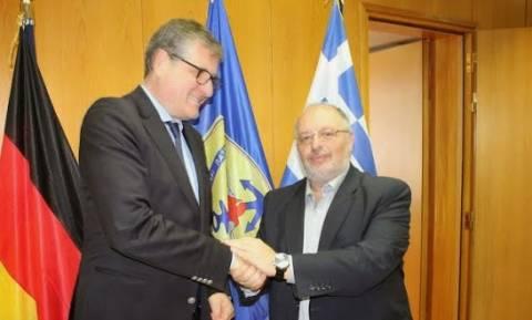Συνάντηση ΑΝΥΕΘΑ Κώστα Ήσυχου με τον Πρέσβη της Γερμανίας στην Ελλάδα