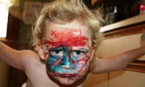 Μερικοί λόγοι για να μην αφήνετε τα παιδιά μόνα τους με μαρκαδόρους!