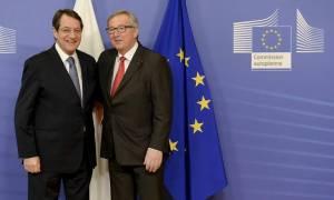 Στην Κύπρο τον Ιούλιο ο Γιούνκερ – Τι είπε με τον πρόεδρο Αναστασιάδη