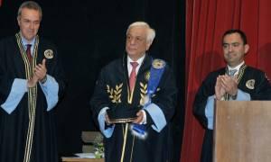 Επίτιμος καθηγητής του Πανεπιστημίου Πελοποννήσου ο Προκόπης Παυλόπουλος