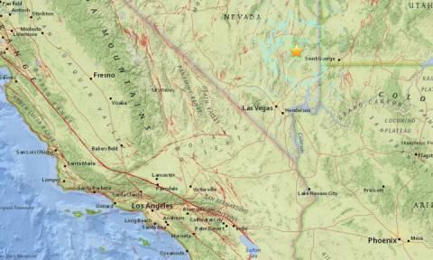ΗΠΑ: Ισχυρός σεισμός στη Νεβάδα